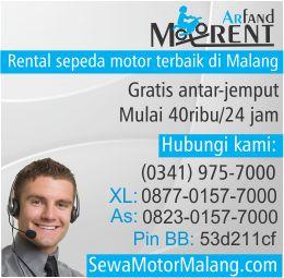 Rental Motor Murah Malang