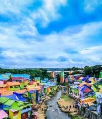 Kampung Warna Warni Jodipan, Wisata Wajib Dikunjungi Di Kota Malang